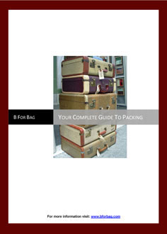 B for Bag complete guide to packing front cover