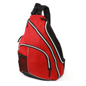 California Innovations red diaper bag