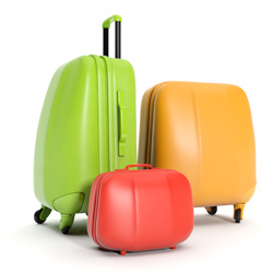 Luggage different sizes