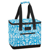 Blue picnic bag