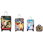 De La Nuez by Heys Usa travel 4 piece luggage set