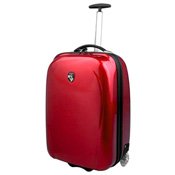 Heys Xcase red wheeled luggage