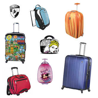 Heys USA luggage collection