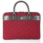 Red Knomo laptop sleeve for women