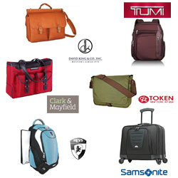 Laptop luggage bags and brand logo