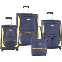 4 piece luggage set for frequent travelers