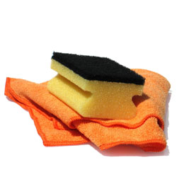 Washing cloth and washing sponge